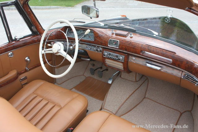 aus experten hand 1958 mercedes benz ponton cabrio die. Black Bedroom Furniture Sets. Home Design Ideas