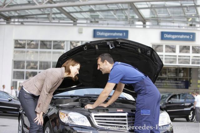 ausgezeichneter service: mercedes siegt bei avd werkstatt-test: 1