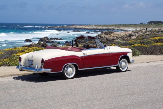 Sommernachtstraum 1957 mercedes benz 220 s cabriolet for Mercedes benz south bend in