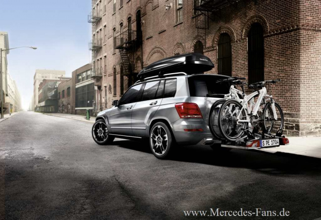 mercedes-benz zubehör: fahrradträger, dachboxen & co!: mit mercedes