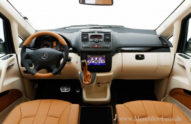 Mercedes Benz Viano Als Edel Transporter Hartmann Tuning