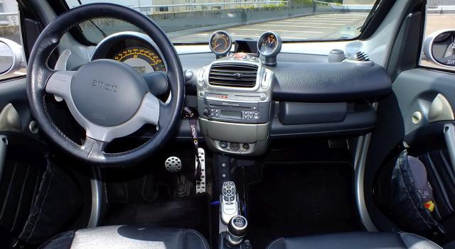 tuning auf die kleine art smart cabrio 450 2004er. Black Bedroom Furniture Sets. Home Design Ideas