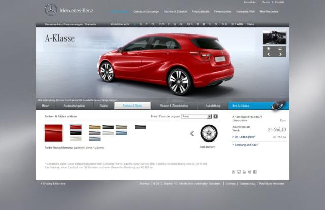 Unbedingt ausprobieren: Der neue Mercedes Fahrzeugkonfigurator ...