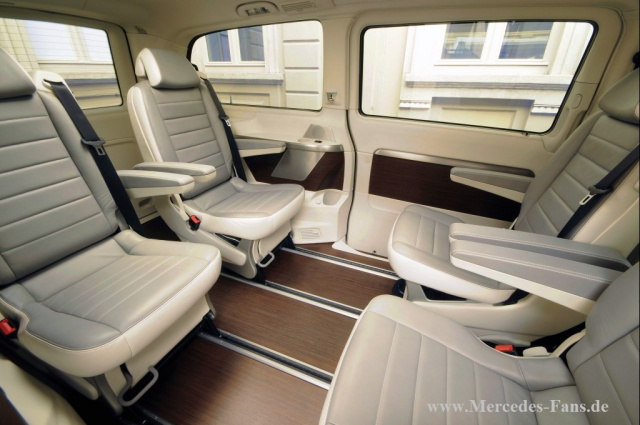 eine vision die wirklichkeit wird mercedes benz viano vision pearl der van wird zur yacht auf. Black Bedroom Furniture Sets. Home Design Ideas