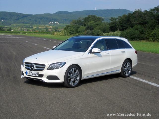 Schon gefahren: Mercedes-Benz C-Klasse T-Modell: Der ...