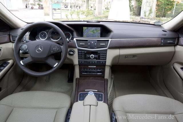 Neue Motoren F 252 R Die Mercedes E Klasse W212 Mercedes E