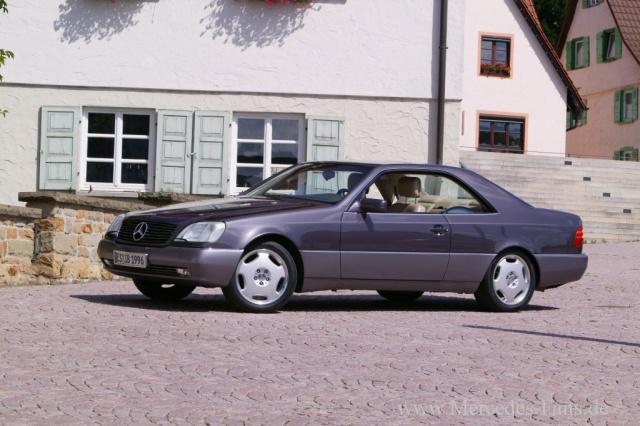 Kofferraummatte Mercedes S-Klasse W140 Coupe W 140 SEC