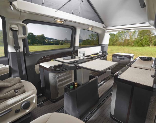 caravan salon hymer designstudie revolution re. Black Bedroom Furniture Sets. Home Design Ideas