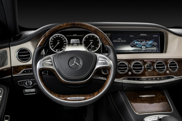 Armaturenbrett mercedes  Mercedes S-Klasse: 40 Jahre State of the Art : Innovationen der ...