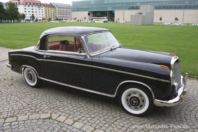 Originalgetreu Restauriert 1958 Mercedes Benz Ponton Coupe Wieder