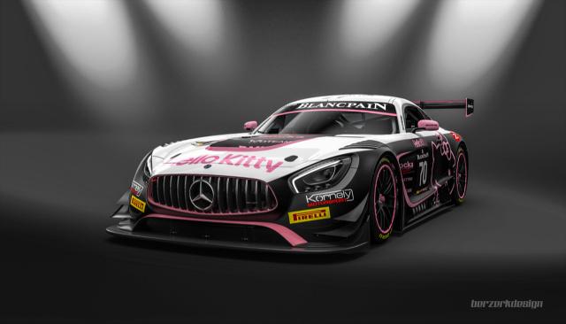 Adac Gt Masters 2017 >> Kornely Motorsport und Kenneth Heyer starten 2017 in der Blancpain Sprint Series: Hello Kitty ...