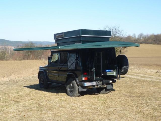 Mercedes G Modell Von Desert Service Fern G Reister F 252 R