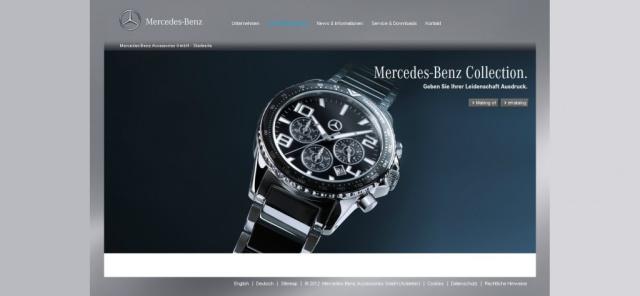 Die neue mercedes benz collection 2012 ist da die for Mercedes benz catalog online