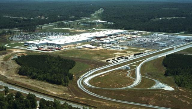 Mercedes benz werk tuscaloosa 20 jahre erfolgsgeschichte for Mercedes benz tuscaloosa