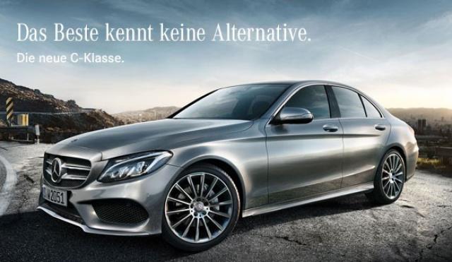 Das beste kennt keine alternative werbekampagne f r die for Mercedes benz slogan